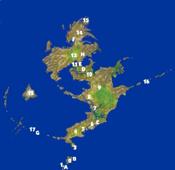 Final Fantasy X World Map