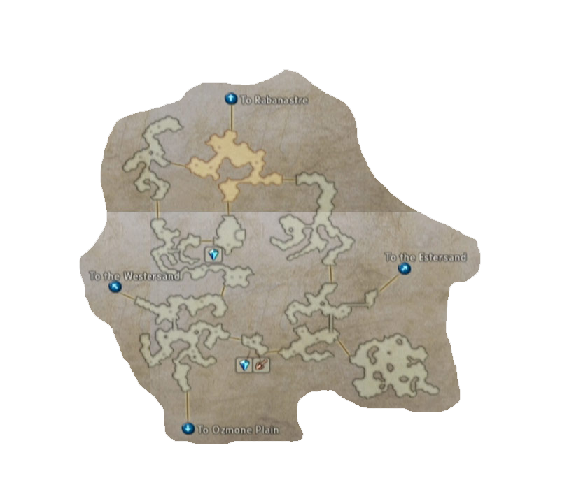 final fantasy xii giza plains wet map