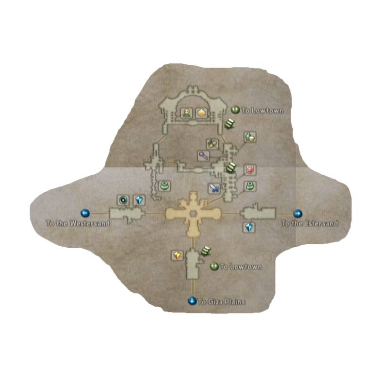 final fantasy xii rabanastre map