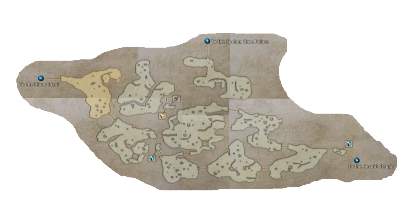 final fantasy xii tchita uplands map