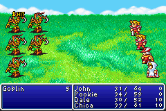 final fantasy gba screenshot