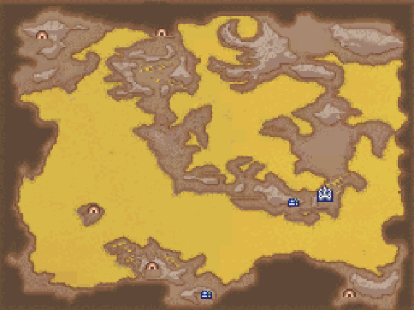 Final Fantasy IV DS World Maps