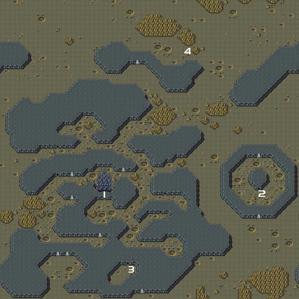 Final Fantasy IV World Maps