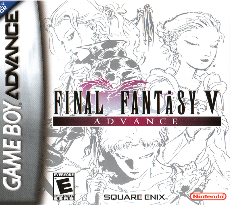 final fantasy v gba cover cover