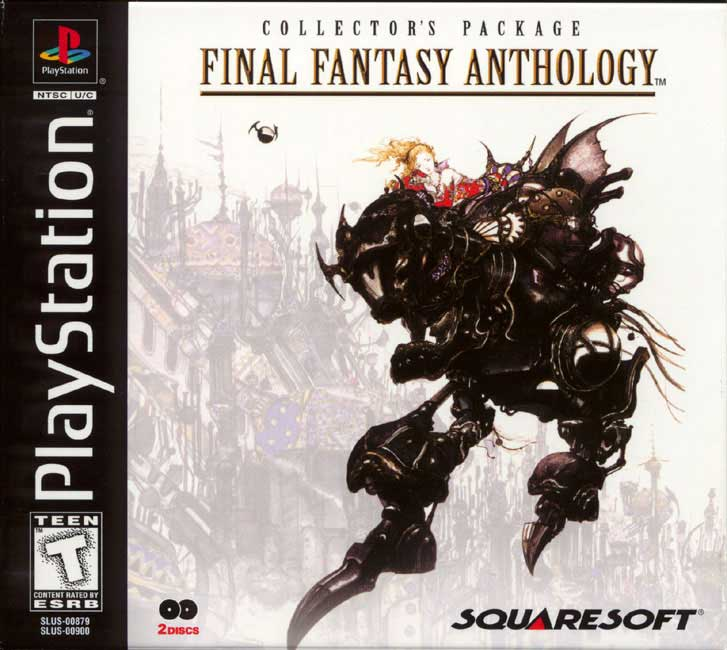 final fantasy anthology cover