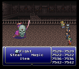 final fantasy vi advance samurai soul