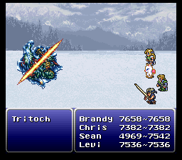 final fantasy vi advance boss tritoch