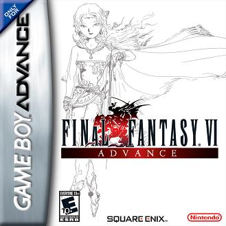 final fantasy vi advance cover
