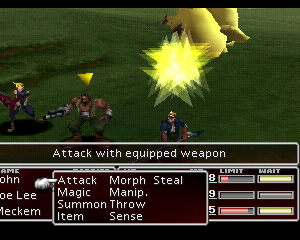final fantasy vii enemy skill chocobuckle