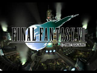 final fantasy vii title screen