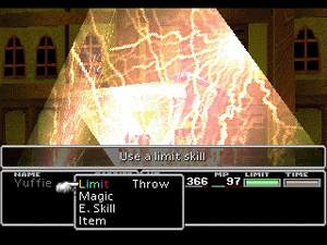 final fantasy vii enemy skill trine