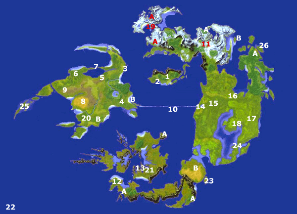 final fantasy kingdom, final fantasy viii world map