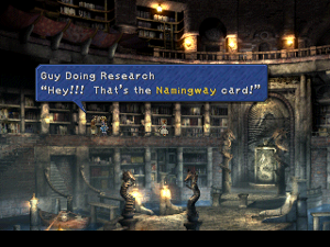 final fantasy ix name change