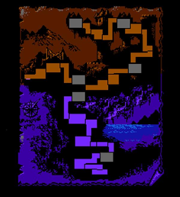Castlevania World Map.Castlevania Iii Maps