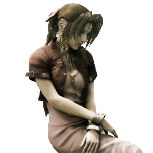 advent children character aerith