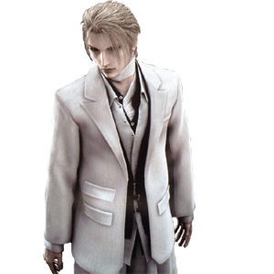 advent children character President Rufus Shinra