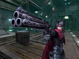 final fantasy vii dirge of cerberus screen shot