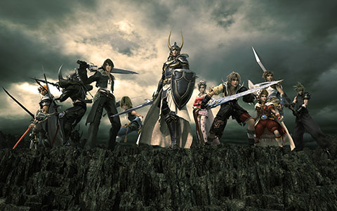 Dissidia: Final Fantasy screen