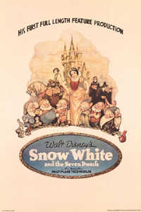 snow white 1937 movie poster