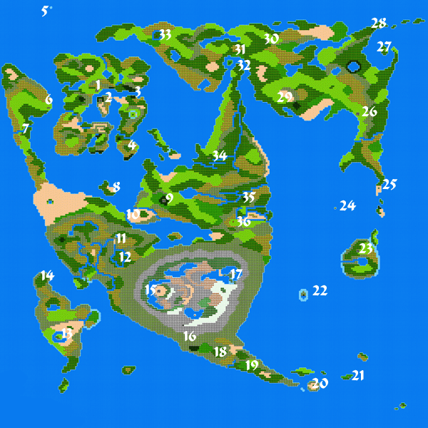 Dragon warrior ii world map gumiabroncs Images