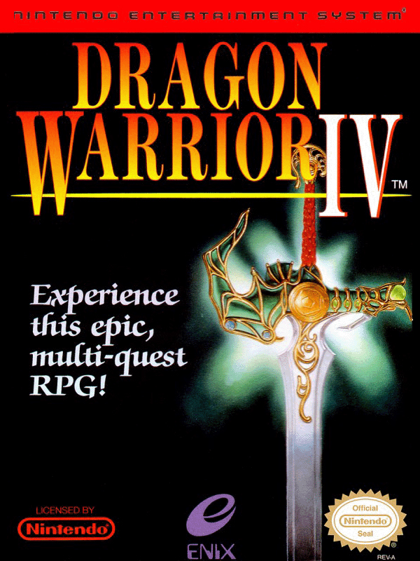 dragon warrior III cover