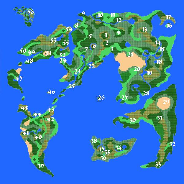Dragon Warrior Iv World Map