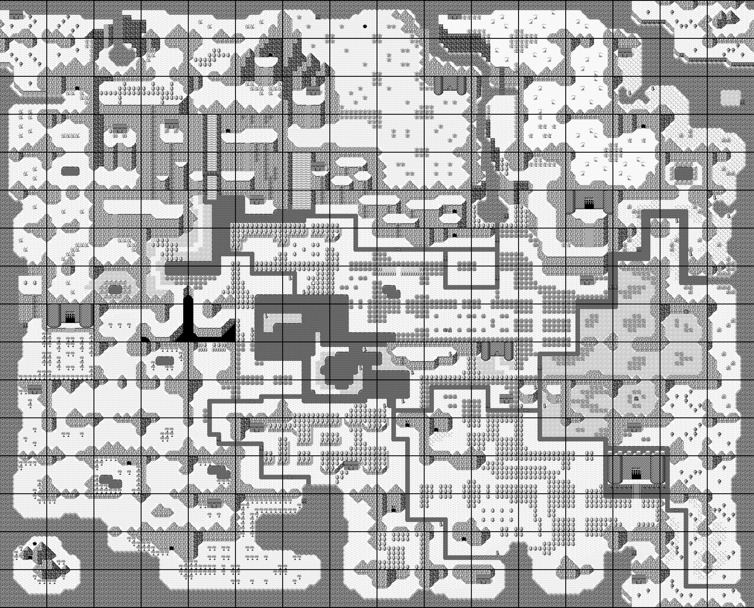 Final Fantasy Adventure Map
