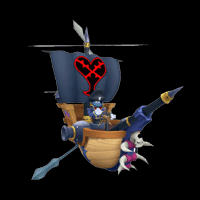 kingdom hearts enemy battleship