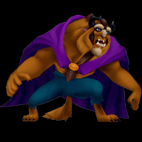 kingdom hearts character beast