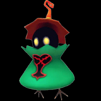 kingdom hearts enemy Green Requiem