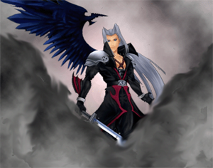 kingdom hearts coliseum sephiroth