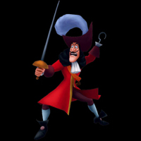 kingdom hearts boss captain hook