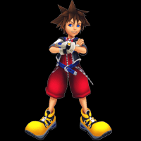 kingdom hearts character sora