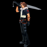 kingdom hearts character leon