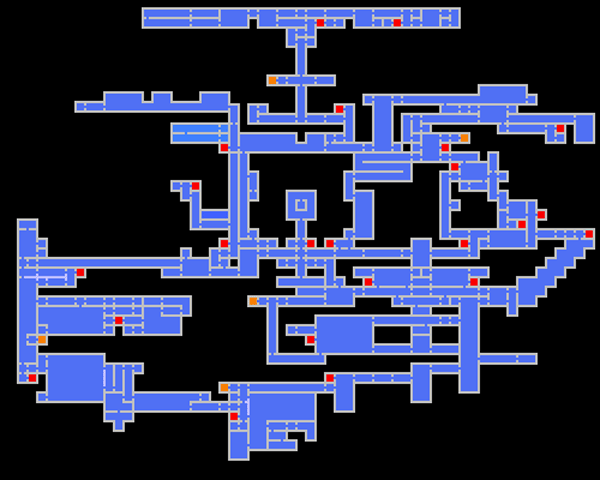 castlevania symphony of the night castle map