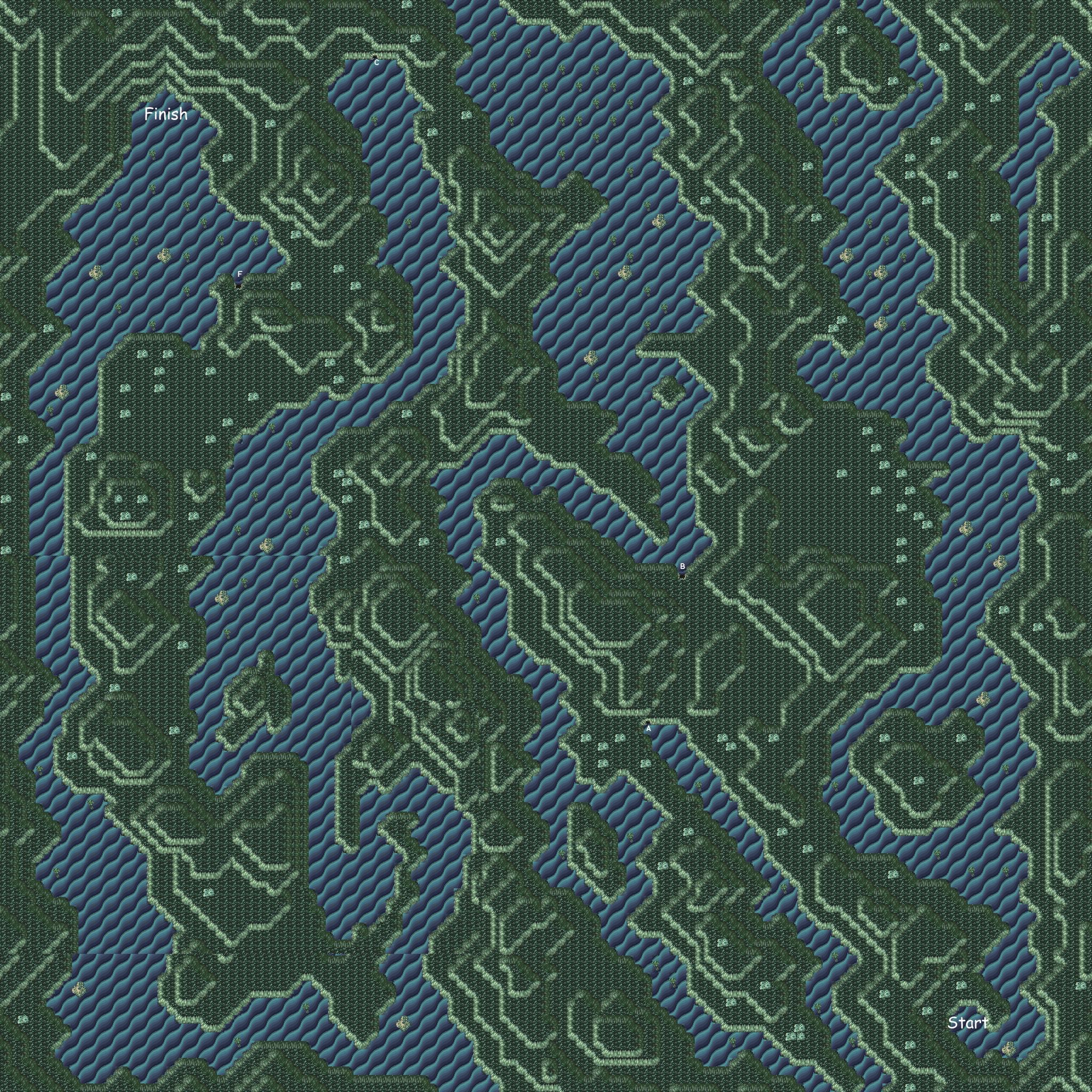 Final Fantasy VI World maps