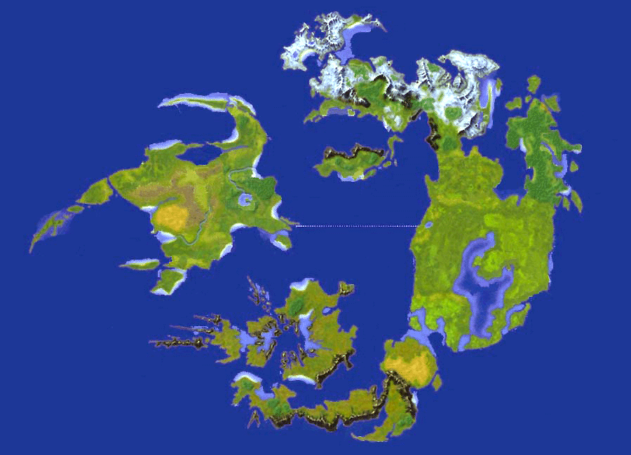 Ff8 World Map Final Fantasy VIII World map Ff8 World Map